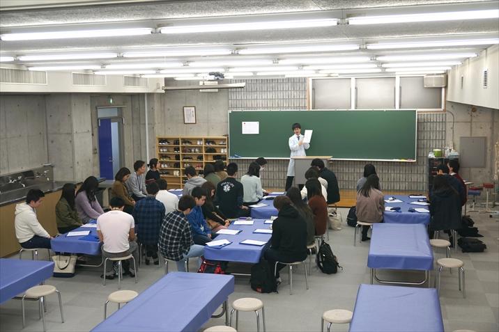 次年度入学生を対象に入学前にも授業を行っています!